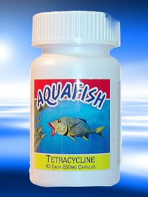 Eaton veterinary laboratories aquafish tetracycline for Tetracycline for fish