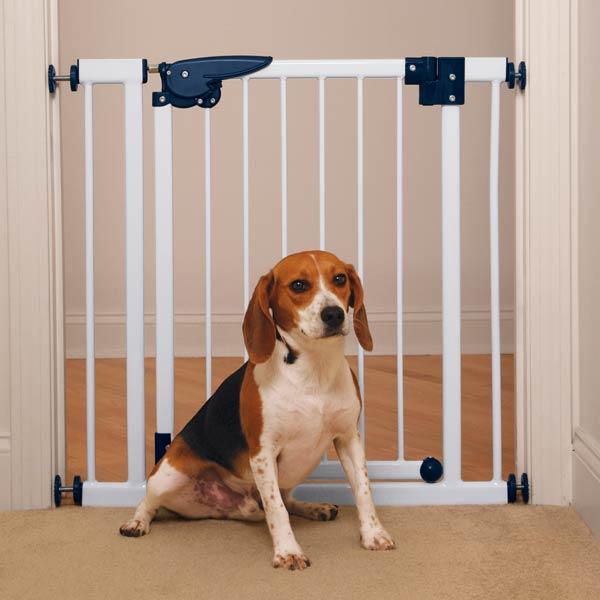 Dog gates best pet gates child gates dog accessories for Puerta para perros