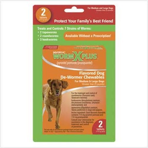 Sentry Dog Dewormer