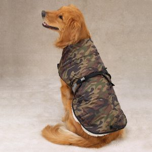 Zack & Zoey Camo Green Dog Jacket