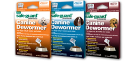 Safe-guard dewormers