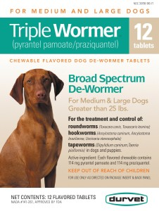 Triple Wormer 12 count