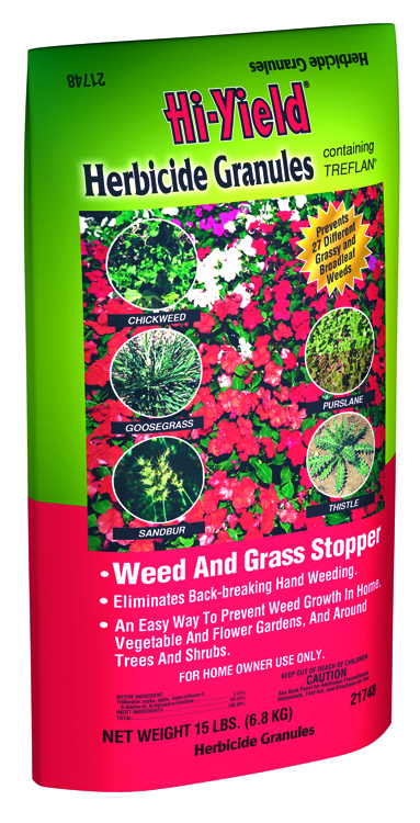 Herbicide Granules Weed and Grass Stopper Contains Treflan