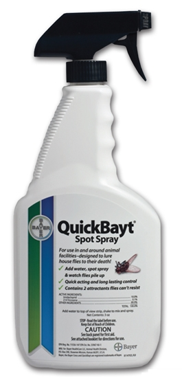 quickbayt fly spray