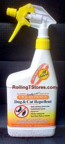 Liquid Fence Dog Cat Repellent