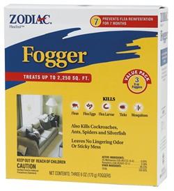 Zodiac Fleatrol Fogger Flea Control 3pk