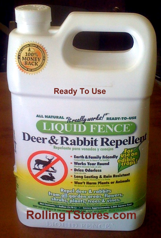 Deer Amp Rabbit Repellent Garden Liquid Fence 1 Gal Rtu