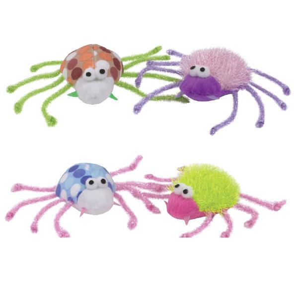 Savvy Tabby Skittery Spiders
