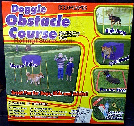 Doggie Obstacle Course
