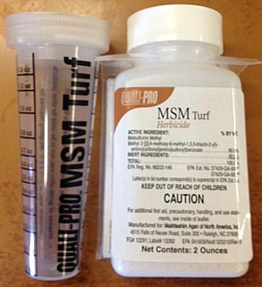 MSM Turf Herbicide | Control Bahiagrass