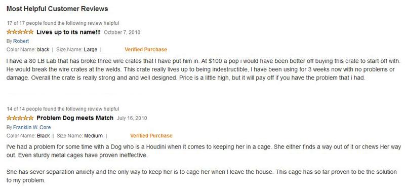 ProSelect Empire Dog Cage Reviews