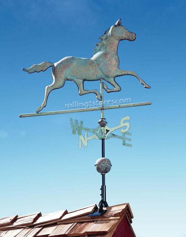 Copper Horse Weathervane
