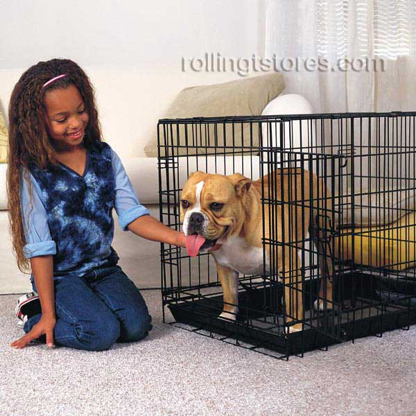 proselect everlasting dog crate single door