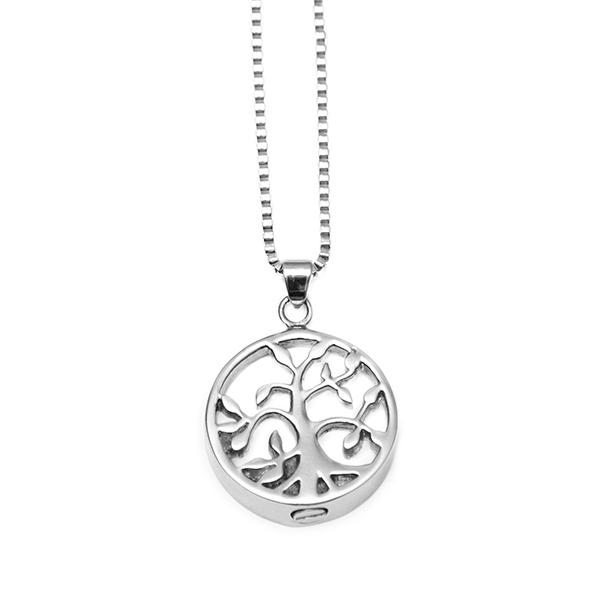 Tree of Life Open Memorial Pendant