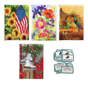 Sunflower Garden Flag Bundle