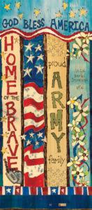 Army Custom Art Pole