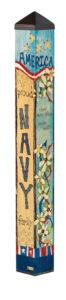 Navy Custom Art Pole