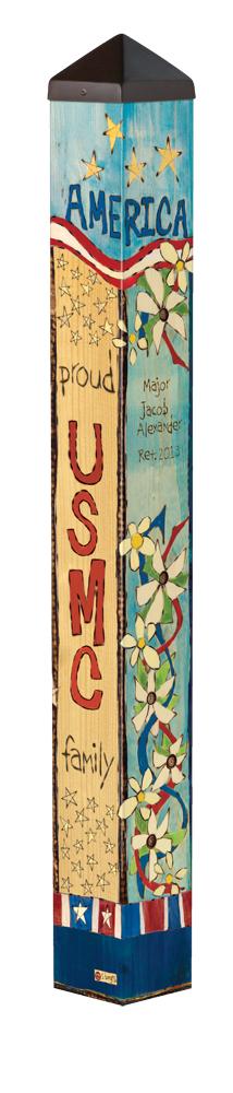 Custom Garden Art Poles Rolling T Stores
